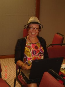No encontro Rede Mulher e Mídia 7, RJ 2010 - Foto:Ângela Moreira