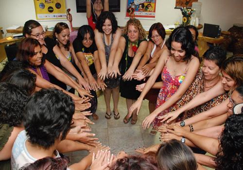Encontro Rede Mulher em Comunicação em Maragogi/AL, promovido pelo Centro de Mulheres do Cabo/PE - 22 e 23 de outubro de 2010. Foto Paulo Lopes