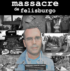 Julgamento do fazendeiro, réu confesso, está marcado para 17 de janeiro de 2012 - Foto capturada no sítio do MST
