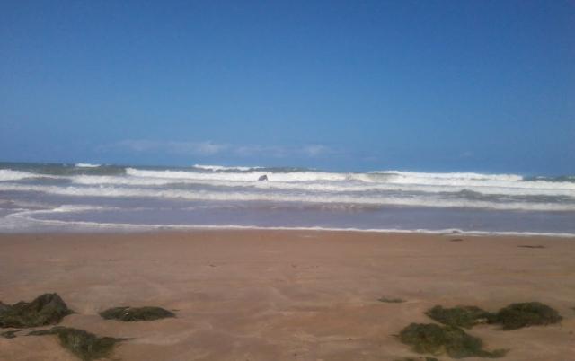 A solidão do mar... - Foto: SE
