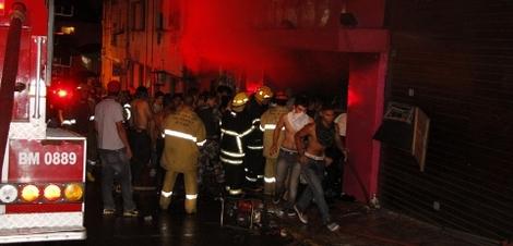 Incendio sta maria_Divulgação/Deivid DutraA Razºao_AgBR