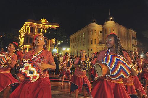 Batuqueiras de maracatu Recife 2012