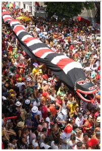 Troça Carnavalesca Mista Ofídica Erótica Minha Cobra - Olinda 2012 - Foto: Luiz Fabiano/PrefOlinda/Fickr