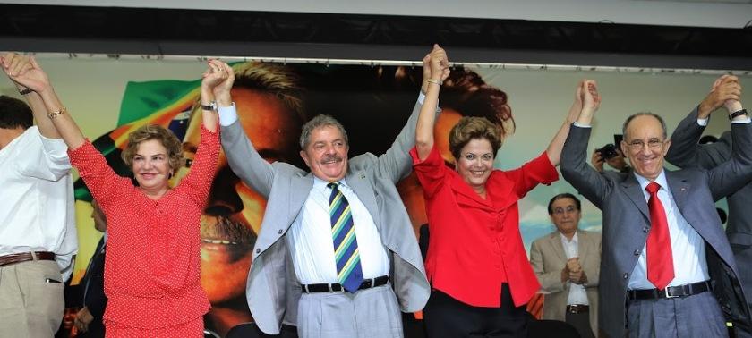 A comemoração começa em São Paulo  -  Foto: Ricardo Stuckert/Instituto Lula