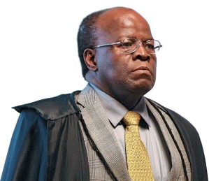 Joaquim Barbosa, ministro-presidente do STF -Foto capturada no Blog Reflexões