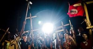 Resultado do julgamento causou protestos -Foto capturada no sítio de Carta Capital