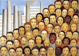 'Operários' , de Tarsila Amaral