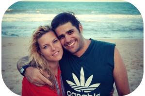 Davi era casado há três anos com Ingrid, uma islandesa que conheceu nos Estados Unidos - Foto: acervo familiar, capturada na internet