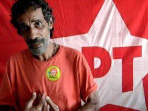 Aldo Lorêto vestia a camisa - Foto capturada no sítio da CUT-PE