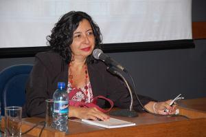 Ana Karla Dubiela, jornalista, escritora é especialista em Rubem Braga  sobre cuja obra  já escreveu três livros - Foto: acervo pessoal