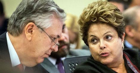 O chanceler Luiz Alberto Figueiredo e a presidenta Dilma Roussef: solução salomônica - Foto: AgBr/Carta Maior