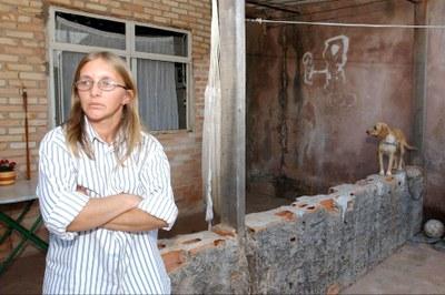 Selma Ferreira, primeira beneficiária de programa modelo para Bolsa Família - Foto: Wilson Dias/ABr