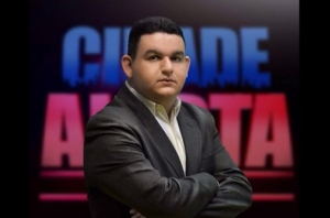O radialista Fabiano Gomes