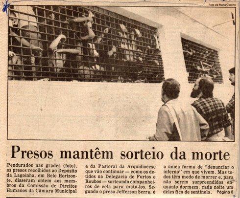 Uma das reportagens garantiu capa de o Globo, em 1985 - Com foto de Mana Coelho