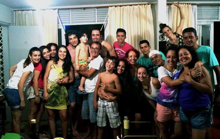 Como lembra uma amiga, reunir a família não tem preço - Foto: Thiago Jomar
