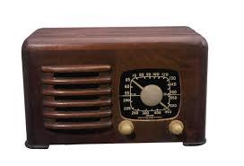 aparelho de rádio antigo