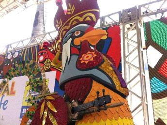 O Galo da Madrugada, maior bloco carnavalesco do mundo, também homenageia Antônio Nóbrega - Foto capturada na Internet