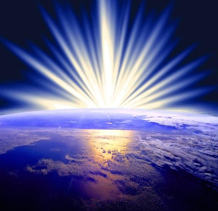Planeta Luz - imagem capturada na rede