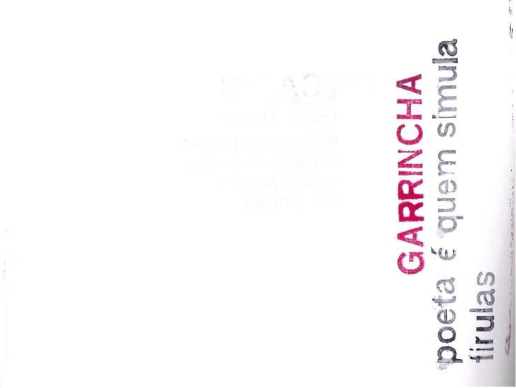 CARIMBALAS - Garrincha
