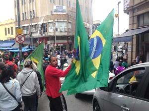 São Paulo também não resiste ao clima da Copa - Foto: Paulo Pinto/Fotos Públicas