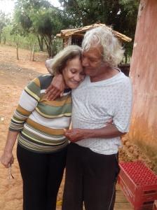 Gê e Toninho, os primeiros  dos 47 primas e primos, frutos de sete dos oito filhos que minha avó materna pariu