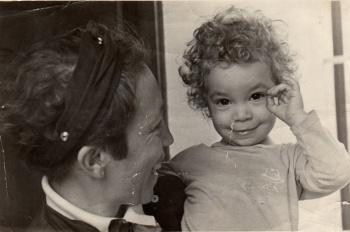 Carol e mami b_BH 1986
