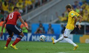 Neymar em duelo