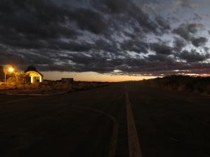 O aeroporto de Montezuma à noite, em foto de Luiz Carlos Azenha/Vi o Mundo