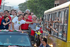Imagem da campanha de 2010, em Caruaru-PE: Roberto Stuckert Filho