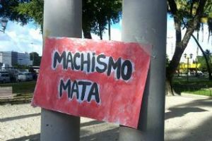 Cartaz da Marcha das Vadias - Recife 2012