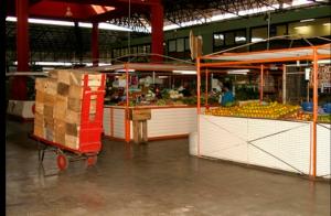 O Mercado Distrital de Santa Tereza era assim... - Foto capturada no FB do evento