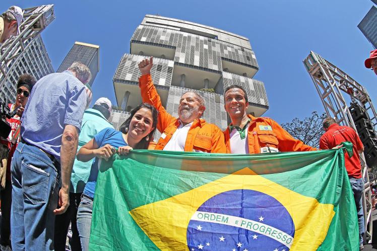 'Tem gente que tem vergonha de usar esta camisa' - Ricardo Stucker/Instituto Lula