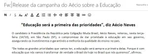 release aecio a