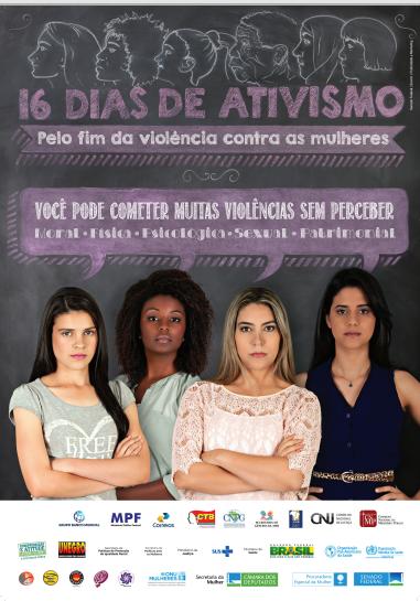 16 dias de ativismo