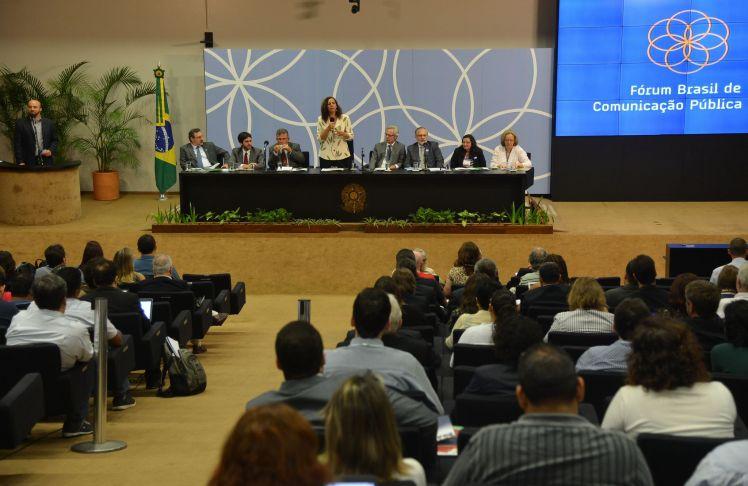 Jandira Fegali, deputada federal pelo Rio de Janeiro (PcdoB) no Fórum Nacional de Comunicação Pública 2014 - Antônio Cruz/Agência Brasil/Fotos Públicas