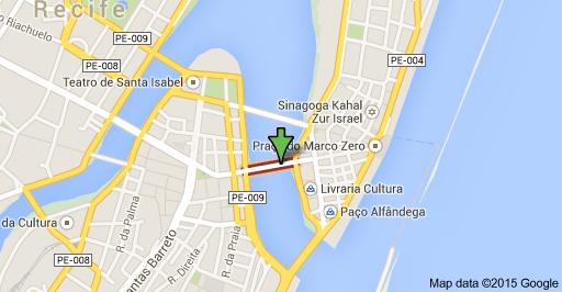 Mapa Recife Antigo