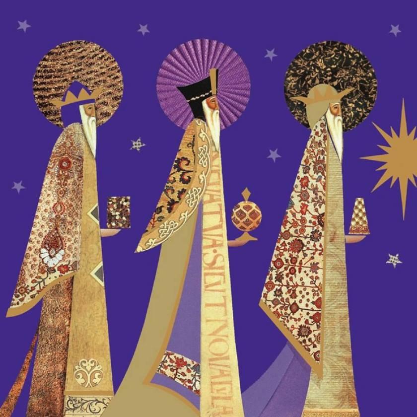 Reis Magos - Imagem capturada em www.anjosdeluz.org.br