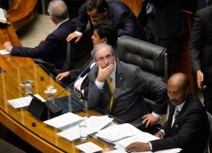Eduardo Cunha (PMDB), o patrocinador , achou por bem recuar e transferir a votação para a próxima semana - Foto: Wilson Cunha/Agência Brasil