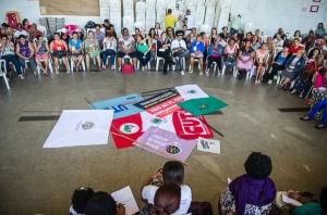 Plenária das Mulheres no 6º Encontro dos Movimentos Sociais - Foto: Lidyane Ponciano/CUTMG