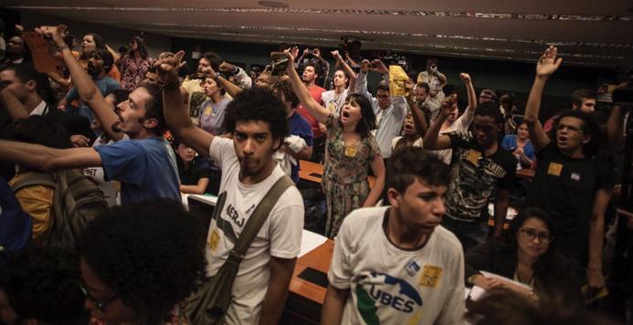 protesto na Câmara_maioridade penal_Midia Ninja