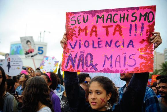 Marcha das Vadias em Brasília - Foto: AgBR
