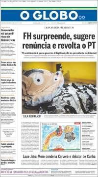 O Globo reforça o alvo real: Lula é o adversário a ser combatido