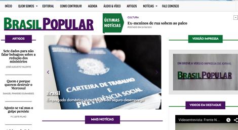 Brasil Popular_sitio