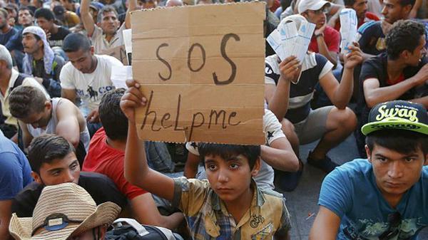 O Brasil acolhe mais r sírios do que os países na rota europeia de refugiados, diz BBC - Foto capturada via Twitter @bbcbrasil