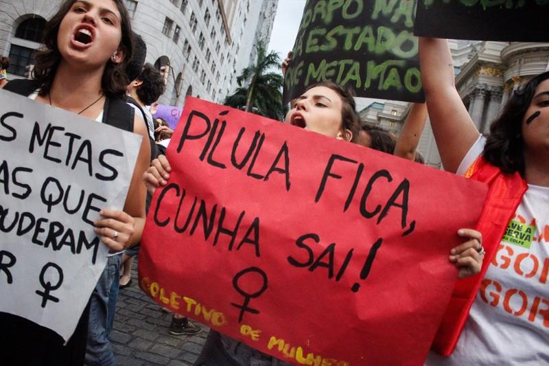 Mulheres contra Cunha RJ _MidiaNinja