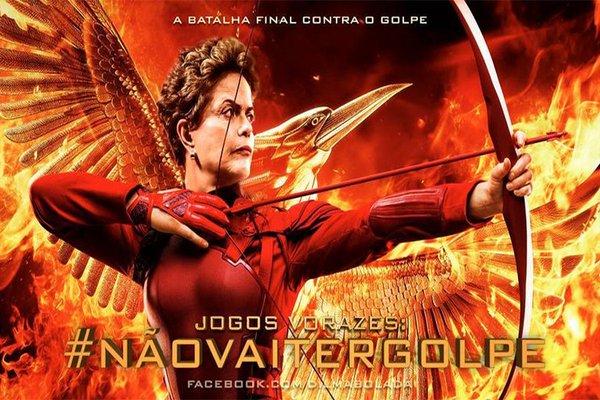 Dilma jogos vorazes