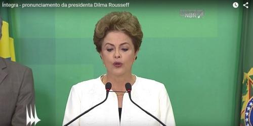 O jogo é jogado, e Dilma paga pra ver