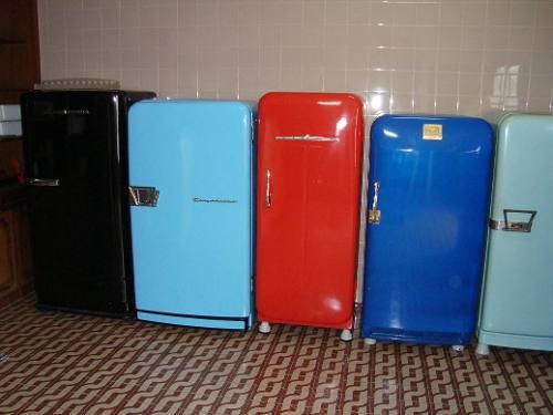 A primeira geladeira a gente não esquece... - Foto: capturada na rede
