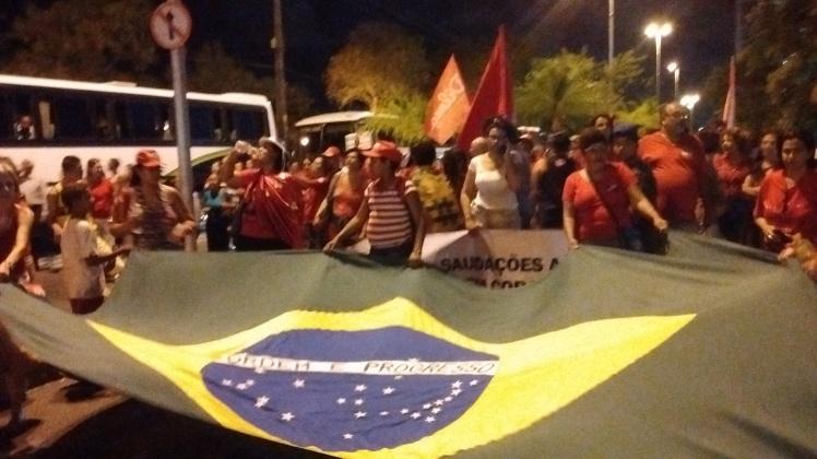 A bandeira é nossa, é do Brasil que se orgulha - Fotos: SEsteliam