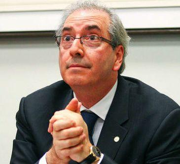 Eduardo Cunha, presidente da Câmara dos Deputados, por equanto... - Foto capturada no Vermelho.org